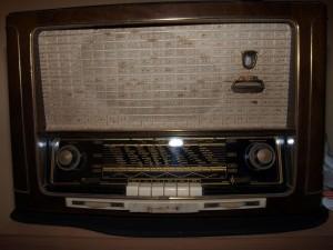 Das Radio im Originalzustand
