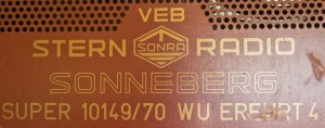 Sonneberg Super 10149/70 WU Erfurt 4