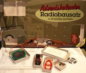 Adventskalender Radiobausatz von Franzis