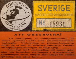 Concerton Typ V 72