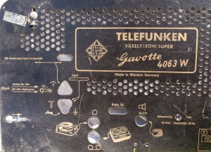 Telefunken Gavotte 4063W