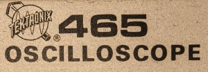 Tektronix 465