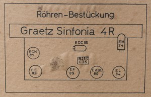 Graetz Sinfonia 4R 221
