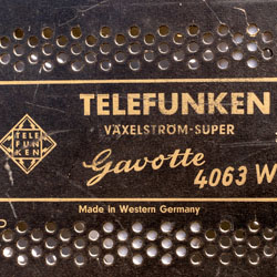 Växelström-Küchenradio