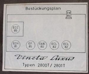 Loewe Opta Vineta Luxus 2800