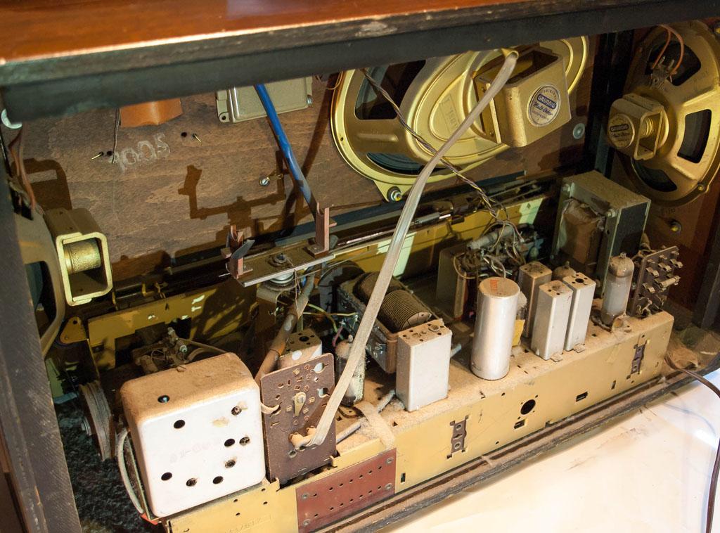 Des Musiklehrers Radio – Meine Röhrenradios aus den 50er ...
