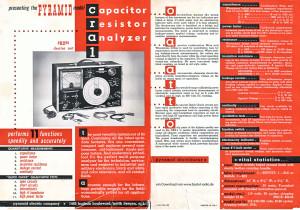 Pyramid CRA-1 Werbung