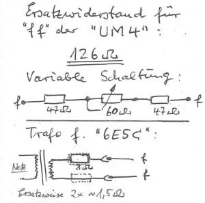 UM4 - Ersatz - 6E5S
