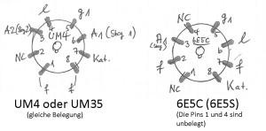 Fassung UM4 6E5S