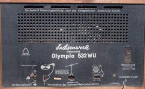 Sachsenwerk Olympia 532WU