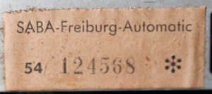 Saba Freiburg 3DS