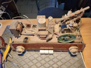 Das Chassis des Grundig Typ 87a